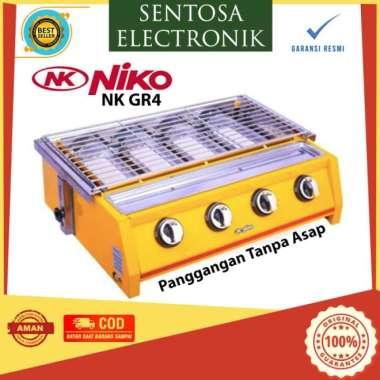 harga NIKO NK GR4 -LPG BBQ Grill Gas Stove 4 Burner - Panggangan Tanpa asap Multicolor Blibli.com