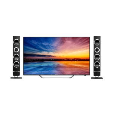 JOGJA - POLYTRON PLD 43TS866 LED TV - Hitam [43 Inch]