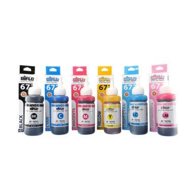 Aiflo 673 Paket Komplit Tinta Print ...  Epson L-Series [6 Botol]