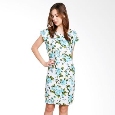 Batik Alhadi BPT002-26D Midi Dress Baju Tidur Daster