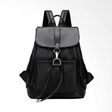 Fashion 0930020514 Import Backpack Wanita - Black