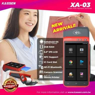 harga Dijual 4G ANDROID POS POSNDROID XA-02 Thermal Printer BluetoothNFCScan Diskon Blibli.com