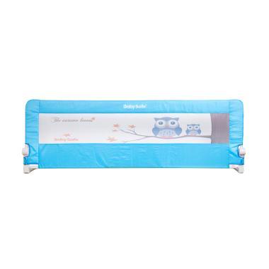 Baby Safe Bedrail Pagar Kasur Anak - Blue [200 cm]