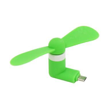 Primavox Mini USB Fan Micro USB Port - Green