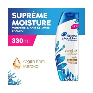 Head & Shoulders Supreme Moisture Shampo Anti-Ketombe [330 mL]