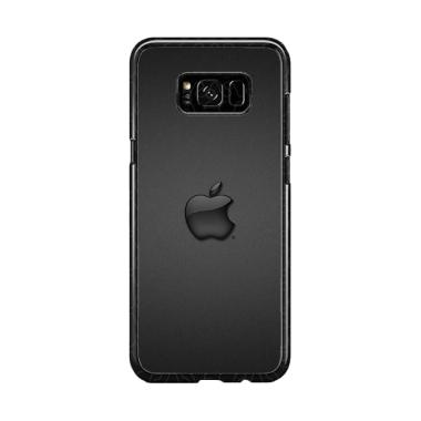 Guard Case Apple Logo Black O1231 C ... or Samsung Galaxy S8 Plus