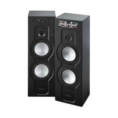 SHARP CBOX-RB988UBL Active Speaker - Black