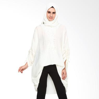 Heart and Feel Muslim 1358.B2 Tunik with Gathered Sleeve Atasan Wanita
