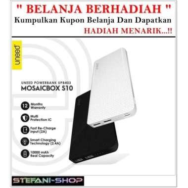 harga Dijual UNEED MosaicBox S10 Powerbank 10000mAH Smart Charging 2.4A - UPB403 - Murah Blibli.com