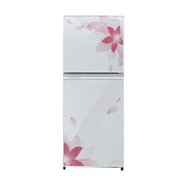 SHARP SJ236NDFW Small 2 Door Refrigerator Kulkas