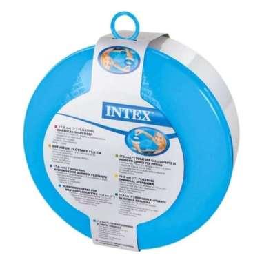 harga INTEX 7IN Floating Chemical Dispenser 17.8cm 29041 Semua Ukuran Multicolor Blibli.com
