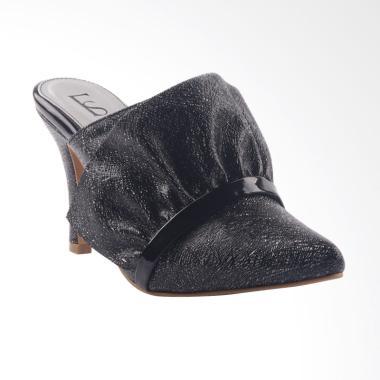 Farish Velina Heels Sandal Wanita - Black