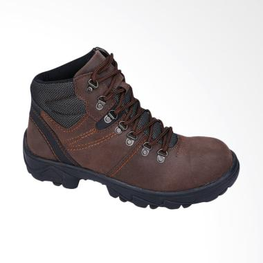 Recommended Sepatu Safety Boots Pria - Coklat [530RCM]