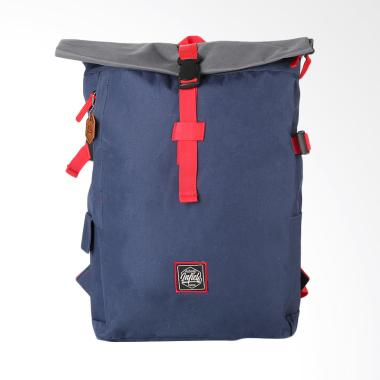 7a4e140b0547 Inficlo Kasual Backpack Pria - Navy [SMM 522]