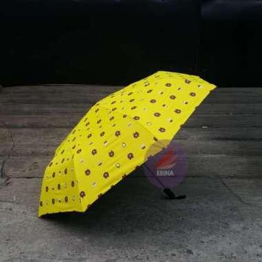 harga Promo Payung Lipat Lucu Unik Anti UV Matahari Karakter Line  Payung Lucu - Kuning Berkualitas Blibli.com
