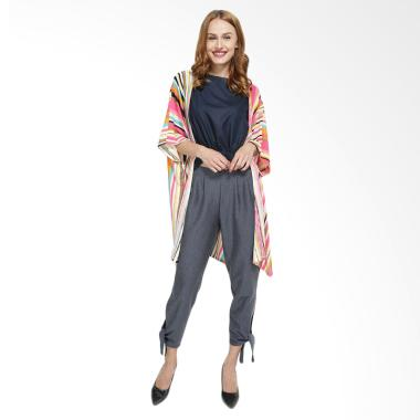 REE Slit Cardigan Wanita - Multiple Color