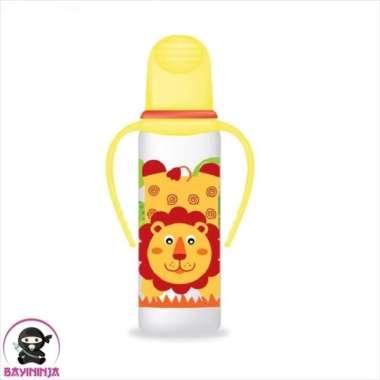 harga Unik BABYSAFE Bottle With Handle Botol Susu Bayi Anak 250 ml - Kuning Lion Berkualitas Blibli.com