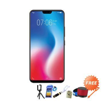 VIVO V9 Smartphone - Gold + Free 8 Item