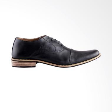 COCOES Paper Sepatu Formal Pria - Black
