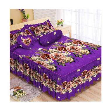 Kintakun Luxury B2 The Royals Set Sprei Rumbai [King/ 180 x 200 cm]