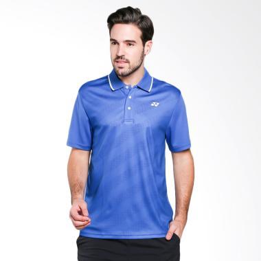 YONEX Men Polo T-Shirt Baju Olahrag ... ue [PM-G017-896-28T-17-S]