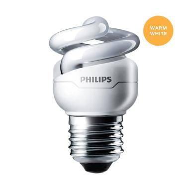 Philips Lampu Tornado 5W Warm White/Kuning