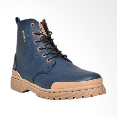 NOKHA Xander Sepatu Boots Wanita - Navy