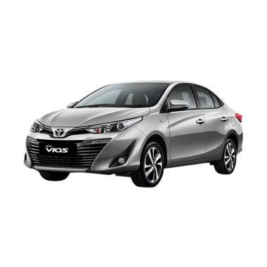 Toyota New Vios G TRD Mobil - Silver Metallic [Uang Muka Kredit MTF]
