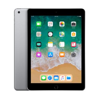 Apple New iPad 2018 32 GB Tablet - Gray [9.7 Inch/ Wifi Only]