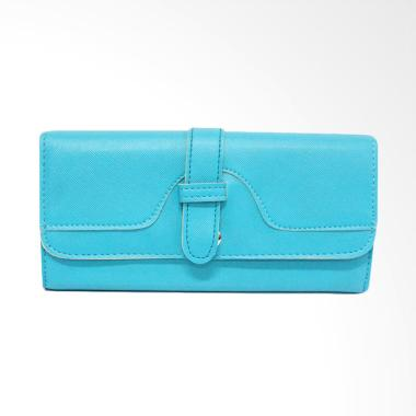 Shine Accessories WB1177 S.42 BLTQ Kain Polos Belt Women Wallet