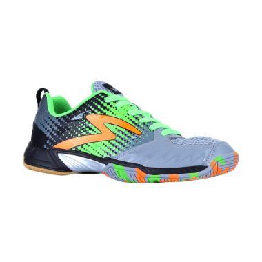Specs 700062 Quicker Sepatu Badminton - Grey