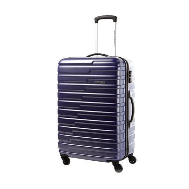 American Tourister 55-20 TSA Handy  ... oper - Mat Blue [20 Inch]