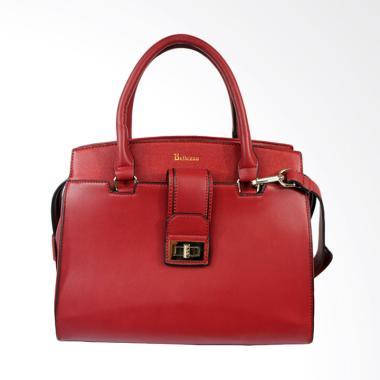Bellezza YZ710092 Top Handle Hand Bag Wanita - Red Wine