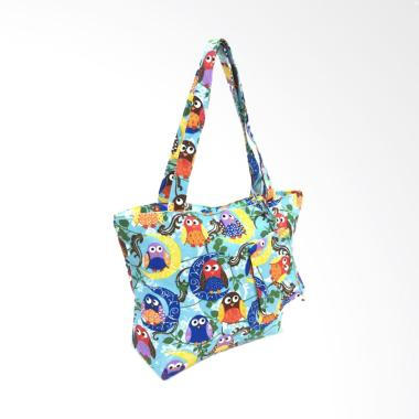 Promo - Fancy B 185 Import Tote Bag - Biru