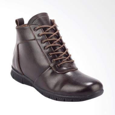 Giant Flames Kanaka Casual Sepatu Boots Pria - Brown