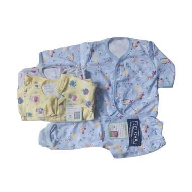 JELOVA Owl Setelan Baju Tidur Bayi - Multicolor [3 set]