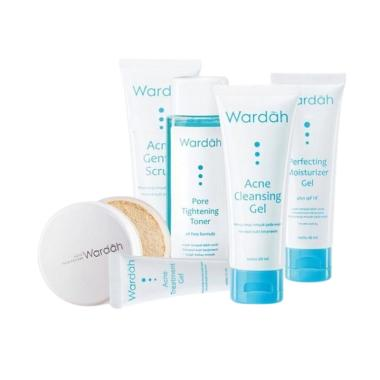 Wardah Acne Complete Series [6 pcs]