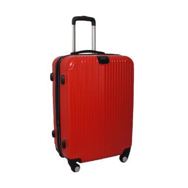 GOTF - Real Polo GGEJ Hardcase Fiber ABS Tas Koper - Merah  Size 24 Inch  318aed6a86