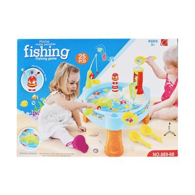 SNETOYS 889-68 Fishing Game Water P ... kan Kolam Air Mainan Anak