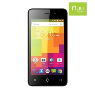 Nuu A1 Smartphone - Black [8GB/ 1GB]