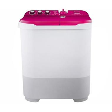 SHARP EST1090PK Semi Auto Washer Mesin Cuci [2 Tabung]