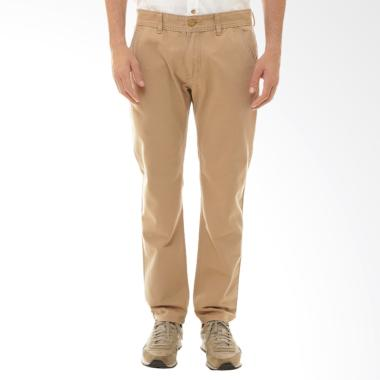Tendencies Basic Fit Chinos Celana Panjang Pria - Khaki