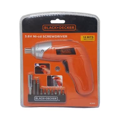 Black and Decker KC3610 Set Mesin Obeng [Baterai]