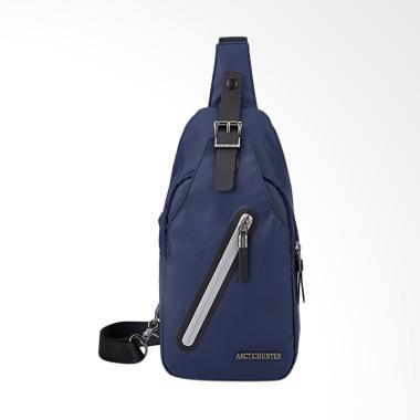 Arctic Hunter Sling Bag Chest Bag Tas Selempang - Biru [Original]