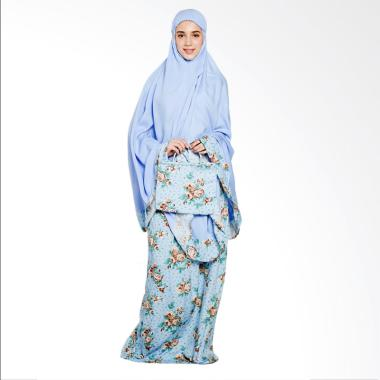 Ayda MM Jumbo Mukena - Plain Blue