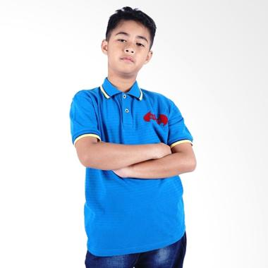 Kids Icon Batman Polo Shirt Baju Anak Laki-Laki