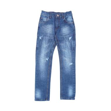 Kids Icon Colours Long Pants Denim Celana Jeans Anak Laki-Laki