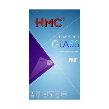 HMC Tempered Glass Screen Protector ... Hitam [2.5D/ Full Screen]