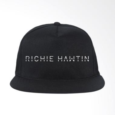 IndoClothing Richie Hawtin 01 Topi Snapback - Hitam