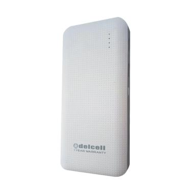Delcell Blast Powerbank - White [9000 mAh]
